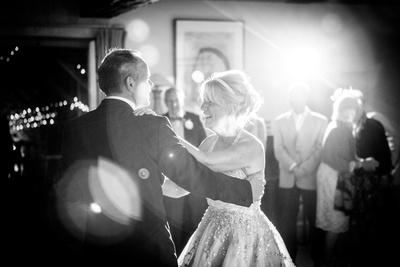 Wedding photography. First dance