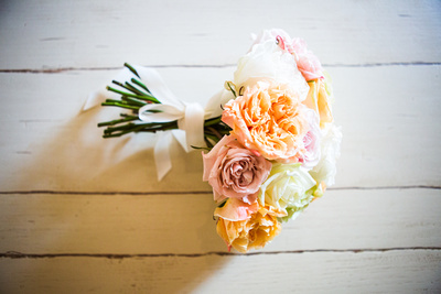 Photo of ridal bouquet from wedding in France