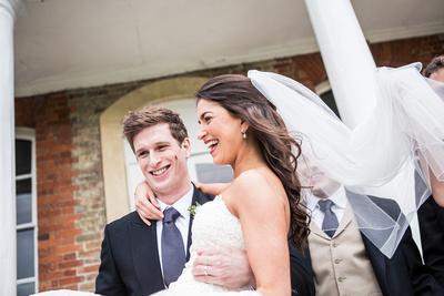 wedding at Ardington House group photo