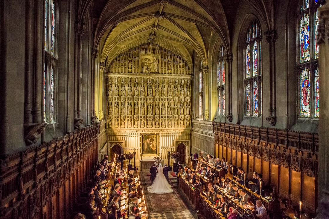 winter wedding in oxford