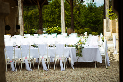wedding reception, wedding in French chateaux