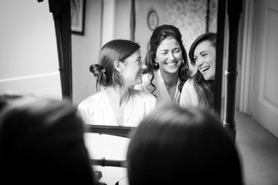 Wedding photography Ardington House, Bridal Prep