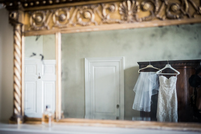 wedding photography at Ardington House, Bridal Prep